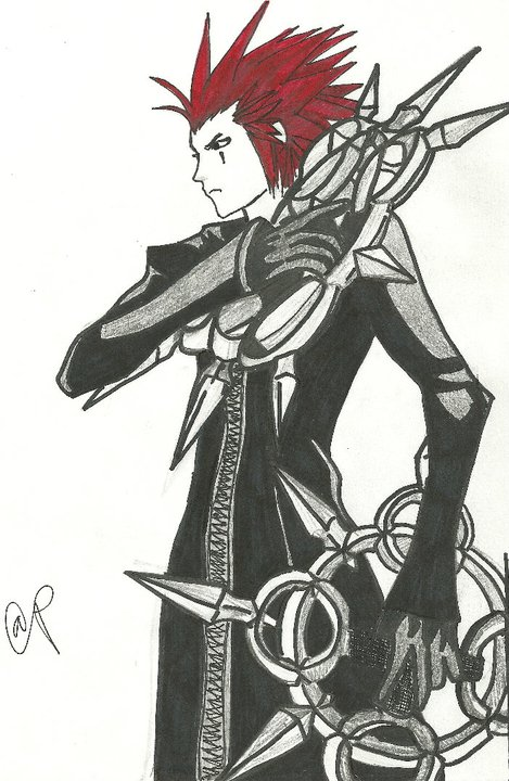 Organization XIII: Axel by kriara2853