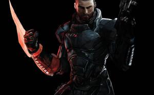 Commander Shepard (Mass Effect) by kriara2853
