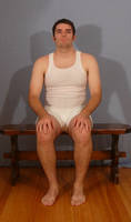 Tuxedo Jay Sitting 1 by SenshiStock