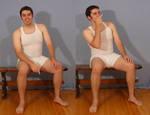 Tuxedo Jay Sitting 6