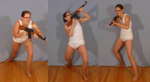 Sailor Heador with AK47