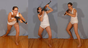 Sailor Heador with AK47 by SenshiStock