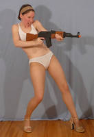 Sailor Sakky with AK47 3 by SenshiStock