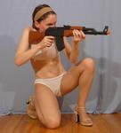 Sailor Sakky with AK47 5