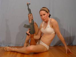 Sailor Sakky with AK47 6