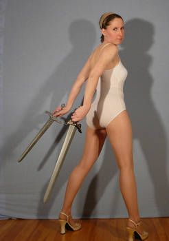 Sailor Sakky with Swords
