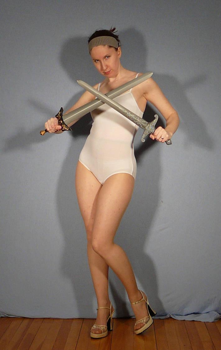 Crossed Dual Swords Pose Reference By Senshistock On Deviantart