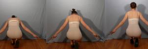 Sai Coming Up - Back Pose Reference
