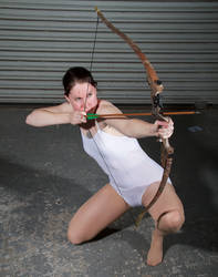 Crouching Archer - Pose Reference