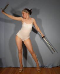 Two Swords - Pose Reference