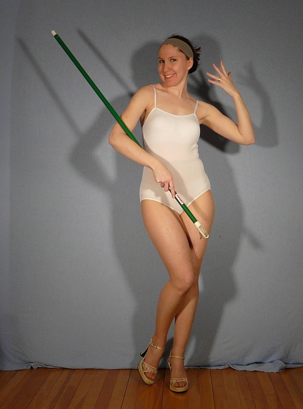Magical Girl Staff - Pose Reference by SenshiStock