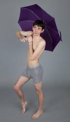 Prince Karl's Fantastic Umbrella - Pose Reference by SenshiStock