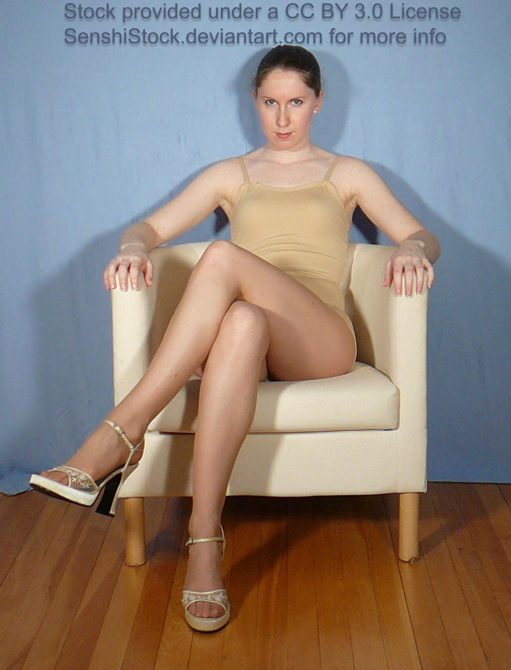 Sitting Legs Crossed Pose for Drawing Reference