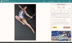 AdorkaStock Sketch: Timed Web App for Poses!