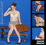 Free Preview! School Girl Sitting Pack