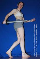 Worm's Eye Sword Perspective [Figure Model Ref] by SenshiStock