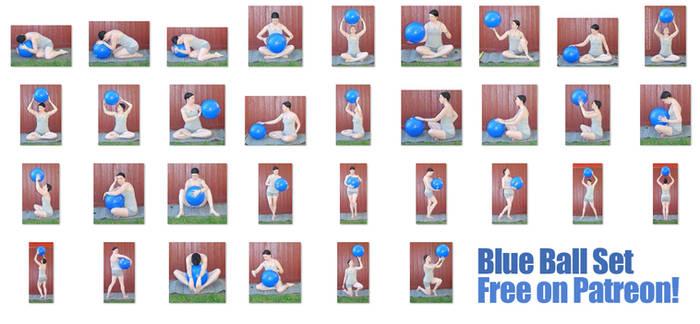 Blue Ball Set - FREE NOW! on Patreon