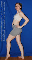 Wink Pose Figure Model Woman Girl Turn Booty