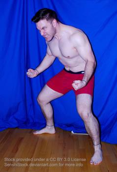 Power Pose Figure Model Strong Man Rage Hulk