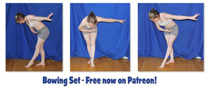 Bowing Set - Free on Patreon!