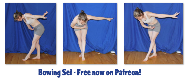 Bowing Set - Free on Patreon! by SenshiStock