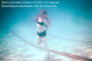 Sinned-Angel Underwater Pose Reference by SenshiStock