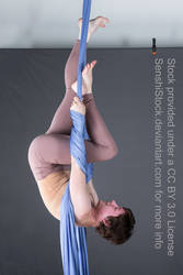 Upside Down Hanging Pose Reference by SenshiStock