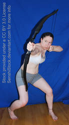Crouching Archer Foreshortening Perspective Pose