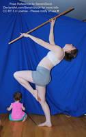 Pose Reference Magical Staff Graceful Bonus Baby by SenshiStock