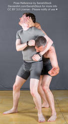 Two Guys Having a Wrastle Pose Reference by SenshiStock