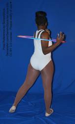 Back Princess AP Hoop Dance Pose Reference