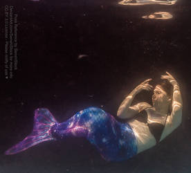 Mermaid Pose Reference Underwater Magical Floating by AdorkaStock