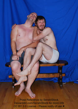 Gay Couple Cute Sitting Cuddle Happy Friends