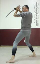 Katana Male Pose Reference Action Sword