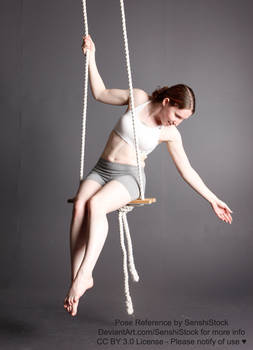 Swing Reaching Down Dynamic Hanging Pose Ref