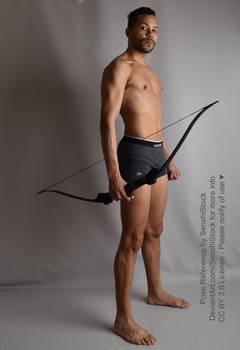 Prince Tico Archery Archer Bow Standing Pose Ref