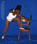 Step Up Archery Archer Bow and Arrow Drawing Pose