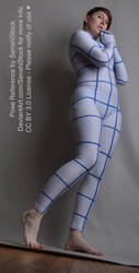 Lowe Perspective Zentai Pose Reference Cute