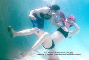 Underwater Mermaid Rescue Pose Reference