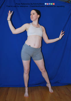 Dynamic Magic Casting Hands Woman Pose Reference