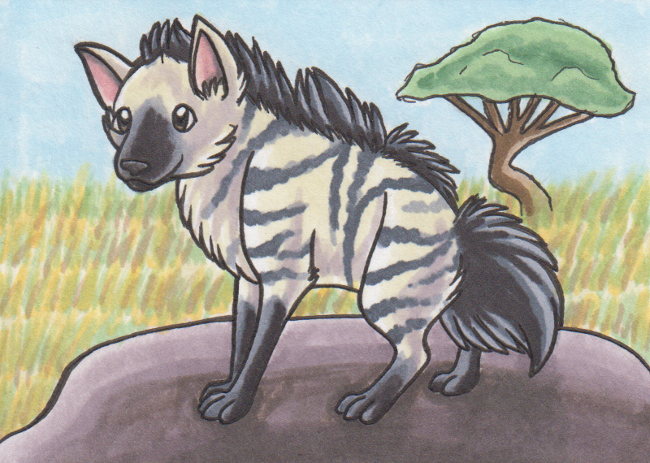 Aardwolf by Crowspeaker