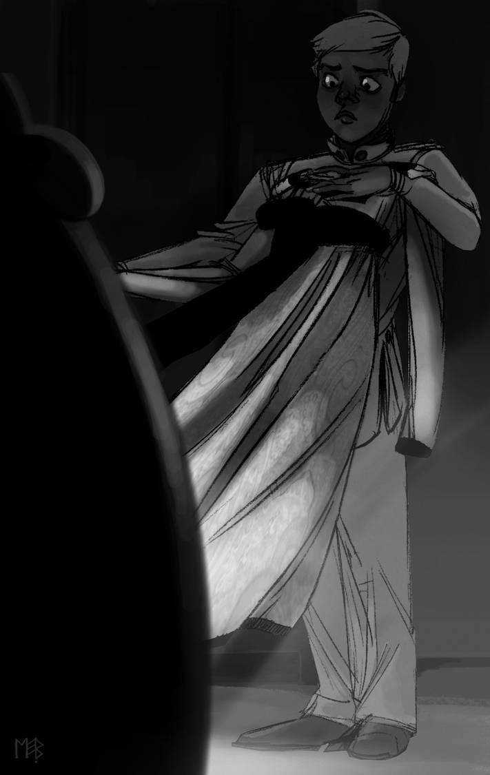 The Mess Dress by Morag-I