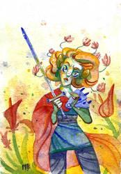 Spring Knight by Morag-I