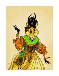 Pronghorn Maiden by Morag-I