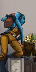 Adalia and Sid by Morag-I