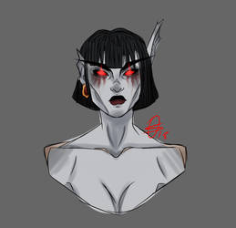 Cinderblood Sketch