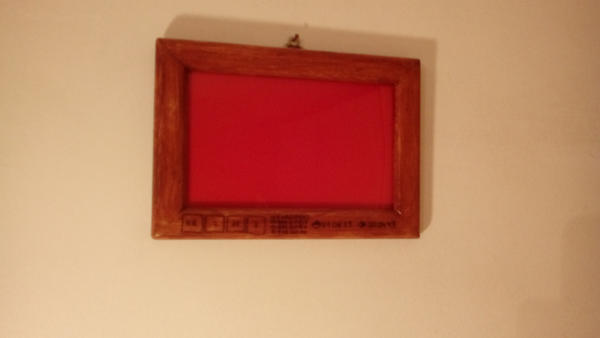 Handmade picture frame by stormssc