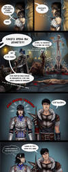 Dragon Age vs TES 15 by Soltia