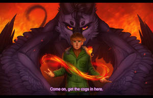 The element of fire by Soltia