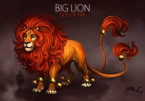 BIG LION [SOLD] Auction by Soltia